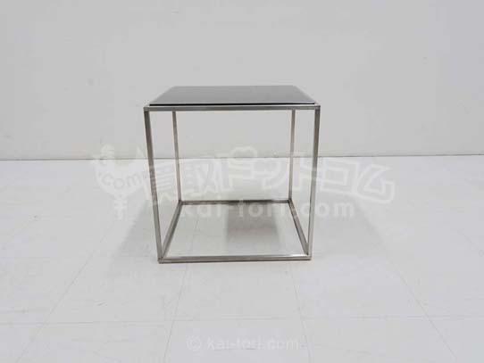 買取金額  20,000円 Cassin ixc カッシーナ ILE イル ガラストップ スクエア サイドテーブル