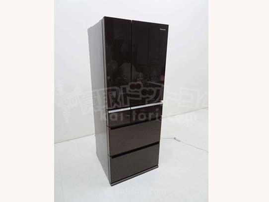 買取金額  50,000円  Panasonic パナソニック パーシャル搭載冷蔵庫 NR-F472XPV-T 470L 2017年製