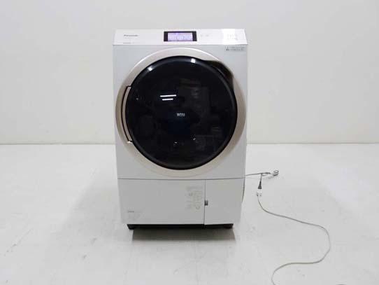買取金額 90,000円 Panasonic パナソニック エコナビ ナノイー X ななめドラム洗濯乾燥機 11キロ NA-VX9800L 2017年製