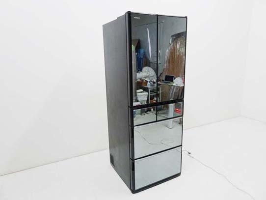 買取金額 35,000円  HITACHI 日立  真空チルド Xシリーズ 6ドア冷蔵庫  R-X5200E X 2015年製