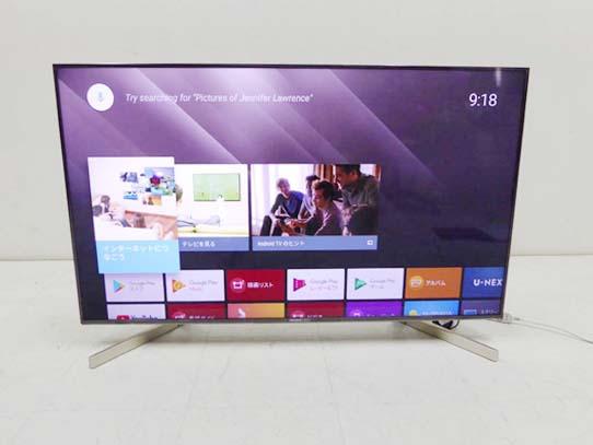 買取金額 65,000円 美品 SONY ソニー  4K 液晶テレビ ブラビア KJ-49X9000F 49インチ 2019年製