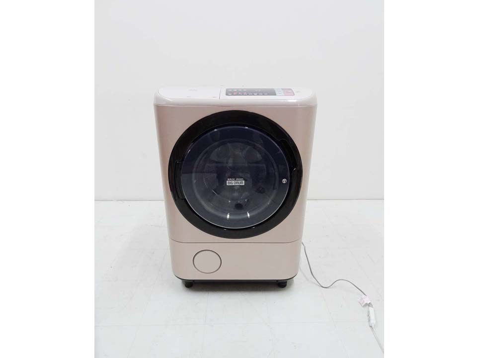 買取金額 45,000円 HITACHI 日立 ビッグドラム ドラム洗濯乾燥機 BD-NX120AL 12キロ 2017年製