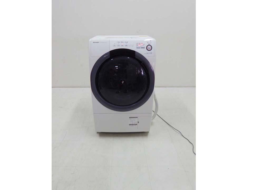 買取金額  20,000円 SHARP シャープ プラズマクラスター ドラム洗濯機 ES-S7B-WL 7キロ 2017年製