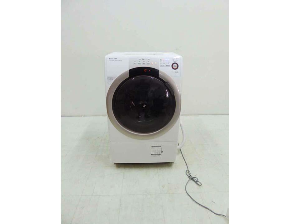 買取金額 20,000円 SHARP シャープ ドラム式洗濯乾燥機 プラズマクラスター 7キロ ES-S70-WL 2016年製