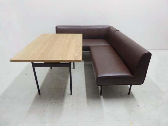 買取金額 50,000円 unico ウニコ DINN ダイニングテーブル ダイニングソファ 3点セット