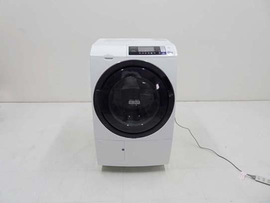 買取金額 35,000円 HITACHI 日立 ヒートリサイクル 風アイロン ビッグドラム スリム BD-SG100AL 2017年製