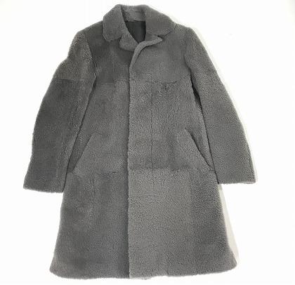買取金額200,000円 エルメスHERMES 羊毛コート メンズ