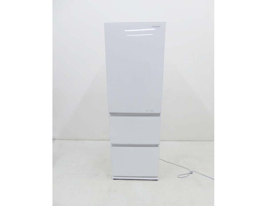 買取金額30,000円 Panasonic パナソニック 2019年製 3ドア冷蔵庫 NR-C370GCL-W 365L