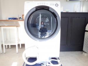 買取金額:45,000円 ■2019年製■【SHARP シャープ】ドラム式洗濯乾燥機 ES-S7D-WL 7/3.5kg