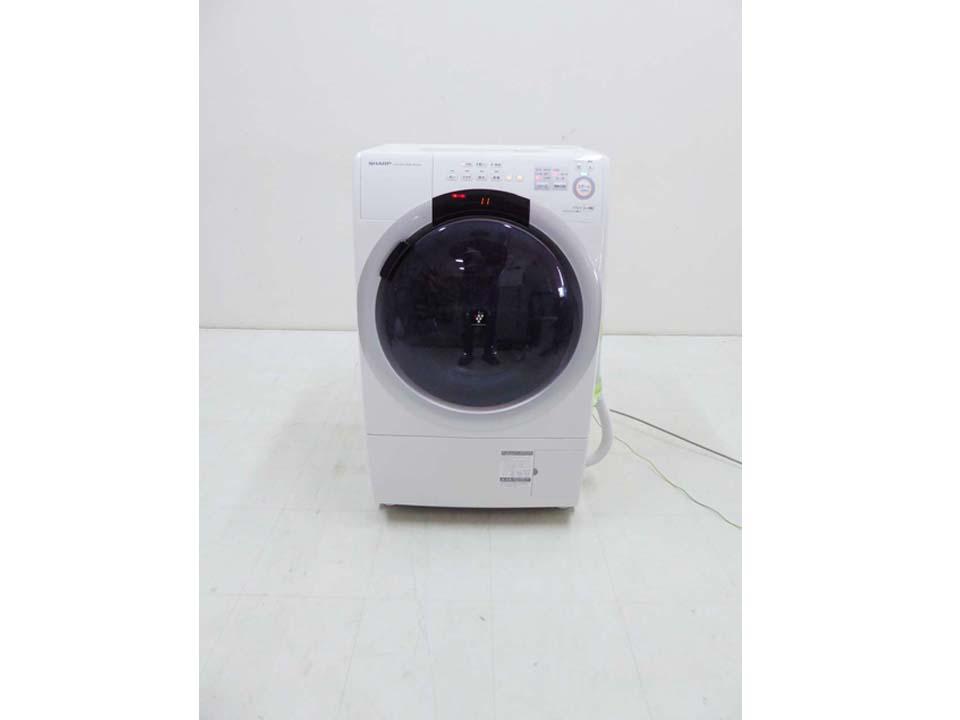 買取金額 10,000円 SHARP シャープ  プラズマクラスター ドラム式洗濯乾燥機 ES-S7A-WR 7キロ 2016年製
