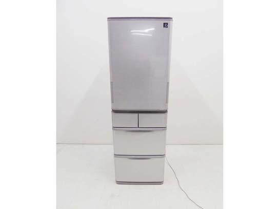 買取金額 35,000円 SHARP シャープ プラズマクラスター どっちもドア 5ドア 冷蔵庫 SJ-W412E 412L 2019年製