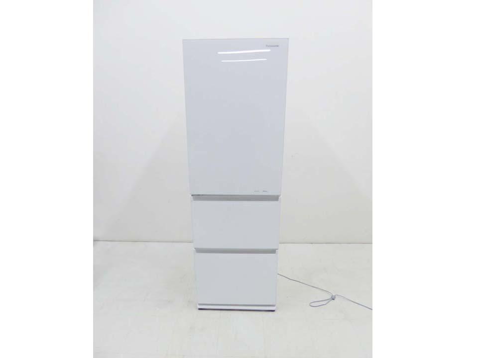 買取金額 30,000円 Panasonic パナソニック 2019年製 3ドア冷蔵庫 NR-C370GCL-W 365L