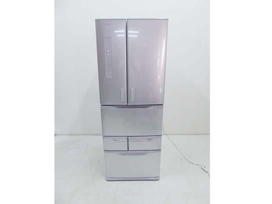 買取金額 36,000円 TOSHIBA 東芝  フレンチドア 冷蔵庫 501L GR-M50FX(S) 2018年製