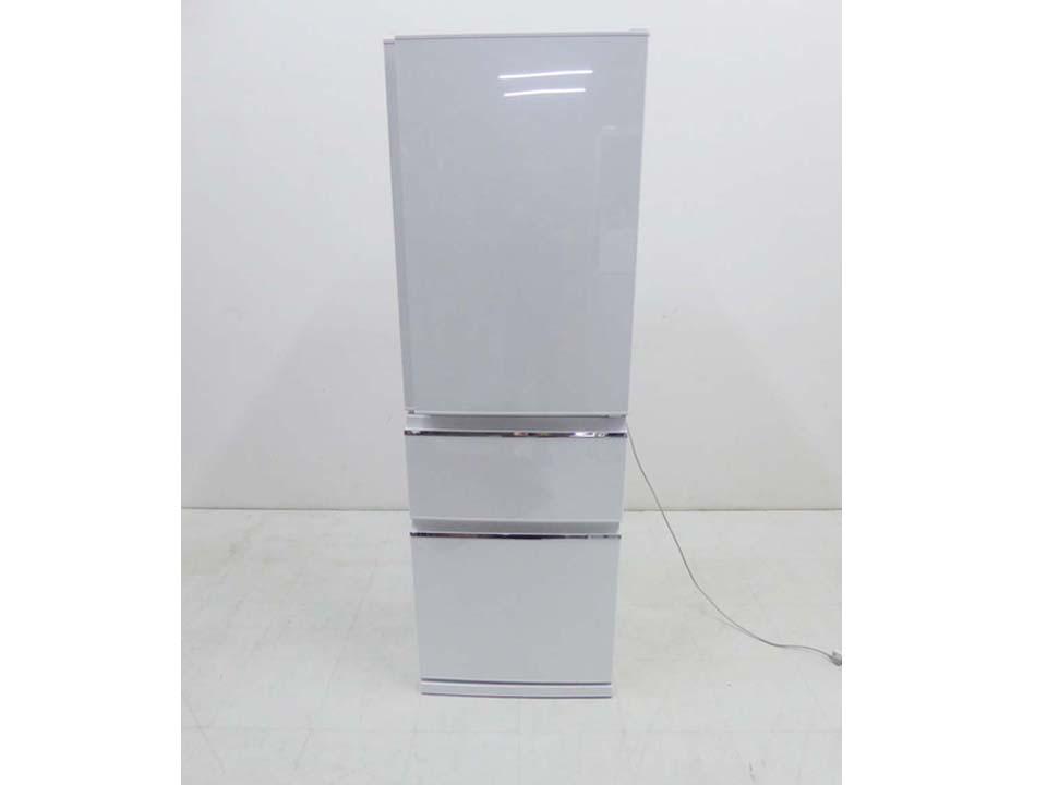 買取金額40,000円 MITSUBISHI 三菱 2020年製 3ドア冷蔵庫 MR-CX37E-W 365L