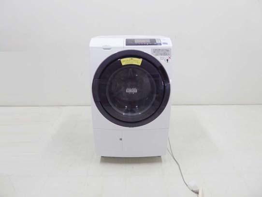買取金額 25,000円 HITACHI 日立 2017年製 ドラム洗濯機 ヒートリサイクル 風アイロン ビッグドラム スリム BD-SG100AL