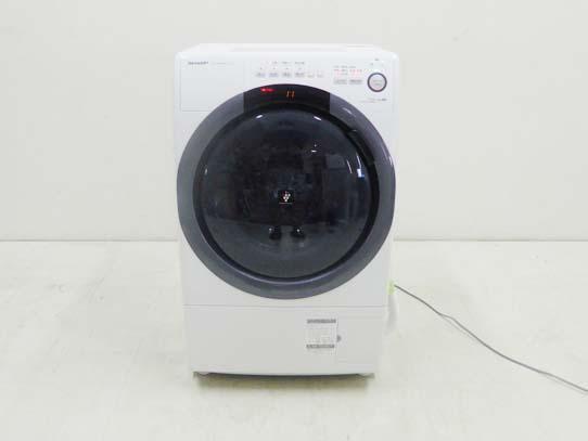 買取金額 60,000円 SHARP シャープ 2020年製 コンパクト ドラム式洗濯乾燥機 ES-S7D-WL 7キロ