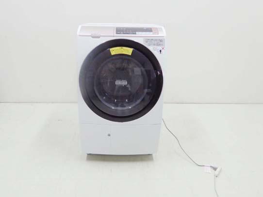 買取金額50,000円  HITACHI 日立 2018年製 ドラム洗濯機 ヒートリサイクル 風アイロン ビッグドラム BD-SV110BL 11キロ 乾燥6キロ