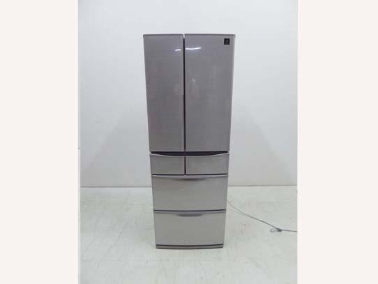 買取金額 30,000円 SHARP シャープ プラズマクラスター フレンチドア SJ-F462D-S 冷蔵庫 455L 2018年製