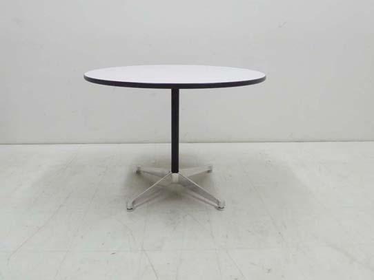 買取金額 30,000円 HermanMiller ハーマンミラーイームズテーブル コントラクトベース 丸テーブル