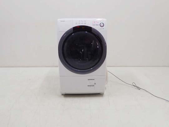 買取金額 30,000円 SHARP シャープ プラズマクラスター ドラム洗濯機 ES-S7B-WL 7キロ 2018年製
