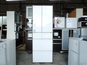 日立 HITACHI 6ドア冷凍冷蔵庫 R-XG4300G 430L 2017年製 フレンチドア 観音開き 真空チルド 新鮮スリープ野菜室
