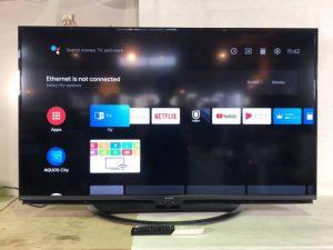 買取金額 30,000円 SHARP シャープ AQUOS アクオス 4K液晶テレビ 4T-C50AJ1 50インチ 2019年製