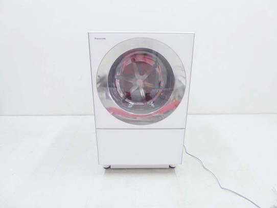 買取金額 75,000円 Panasonic パナソニック 2019年製 Cuble キューブル エコナビ ななめドラム洗濯乾燥機 NA-VG1300L 10キロ 乾燥5キロ