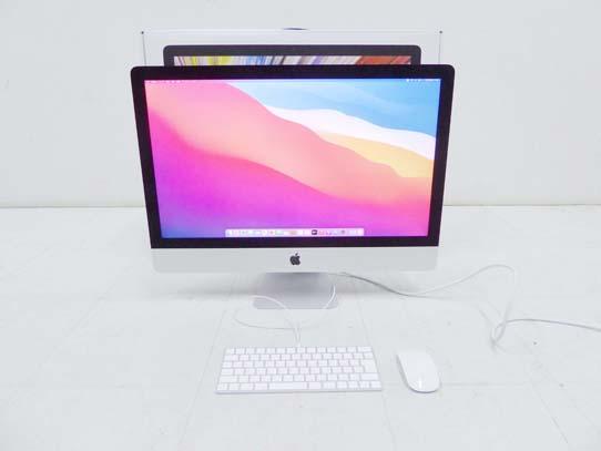 買取金額  100,000円 Apple iMac 27インチ 2020年モデル Retina 5Kディスプレイモデル PC パソコン Model No A2115
