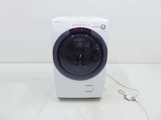 買取金額 50,000円  SHARP シャープ 2020年製  ES-S7D-WL プラズマクラスター コンパクト ドラム式洗濯乾燥機 7キロ 乾燥3.5キロ