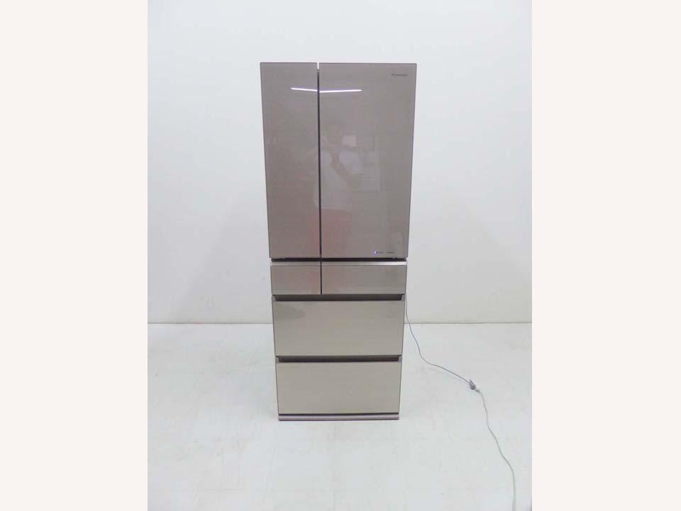 買取金額 55,000円 Panasonic パナソニック 2019年製 NR-F505XPV-N 冷蔵庫 微凍結 パーシャル ナノイー搭載 501L